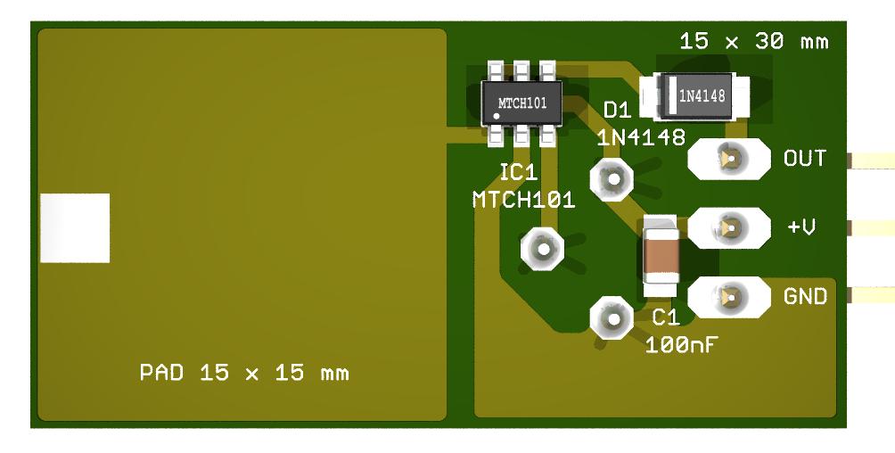 Theremino Proximity Sensor