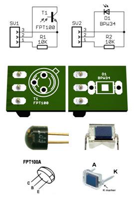 Light sensors | theremino