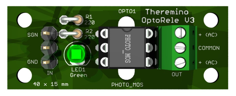 Theremino - Opto Relay