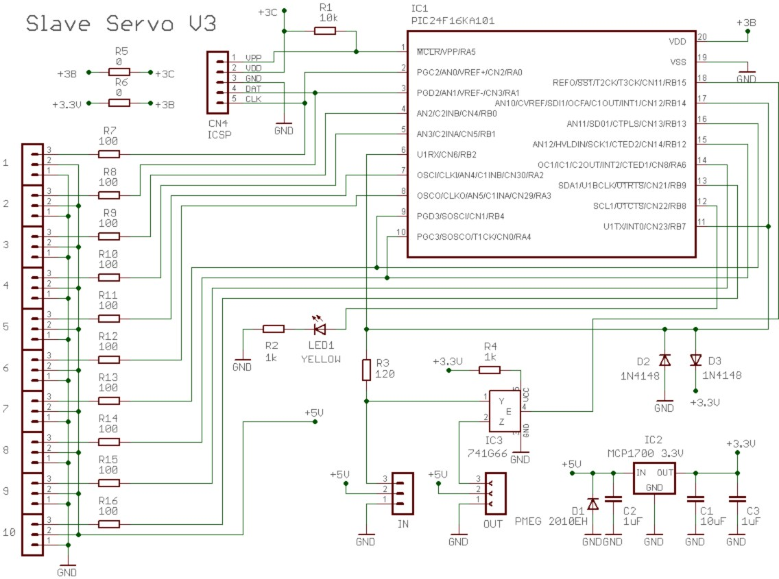 Wiring Diagrams Theremino Generated Using Eagle Schematic Software The Formatted For Recommendations