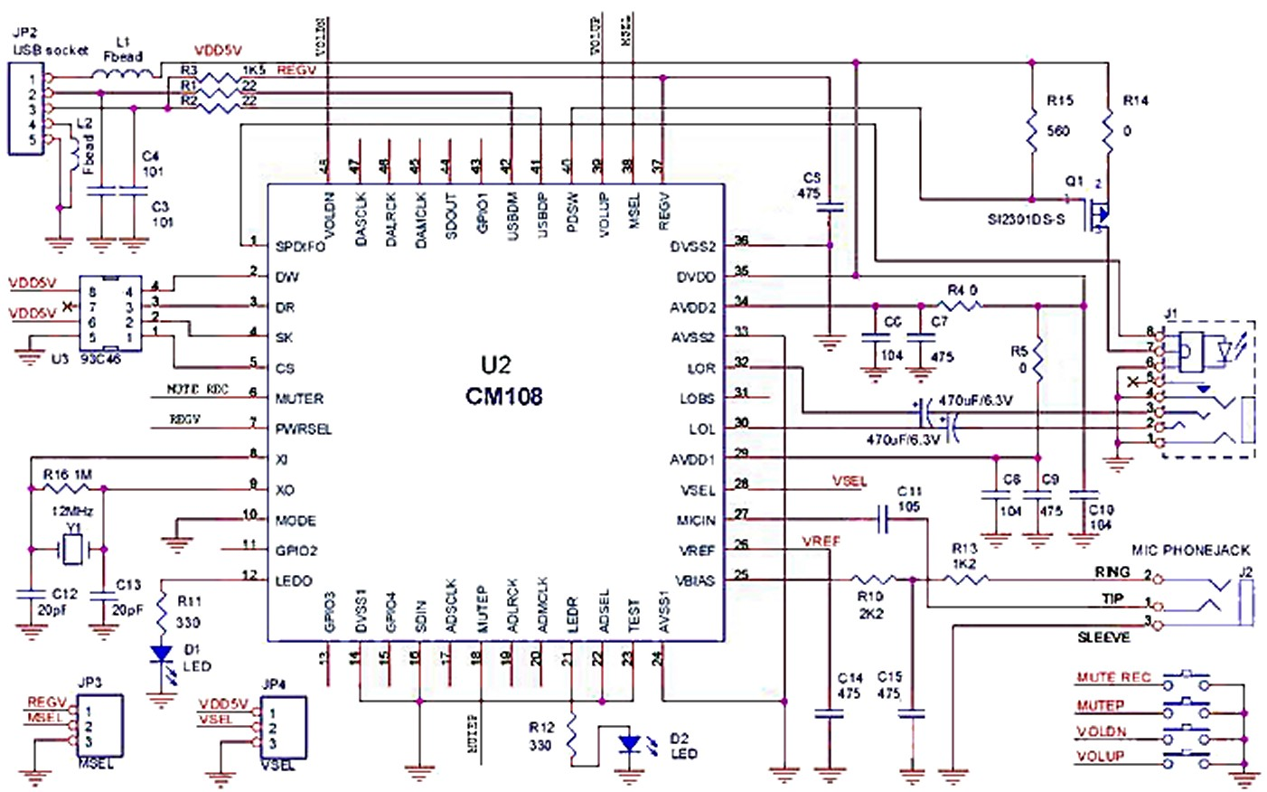 Miscellaneous Applications Theremino Schematic Of A Crude Ecg Circuit In