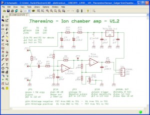 Theremino Eagle Schematics