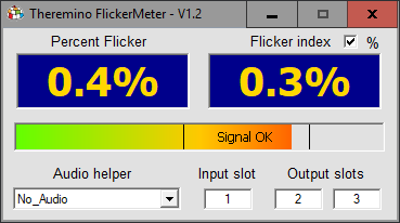 Theremino Flicker Meter