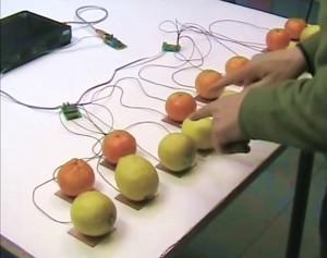 Theremino Capacitive Keys - Lemons Piano