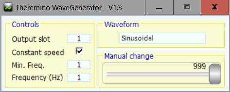 Theremino Wave Generator