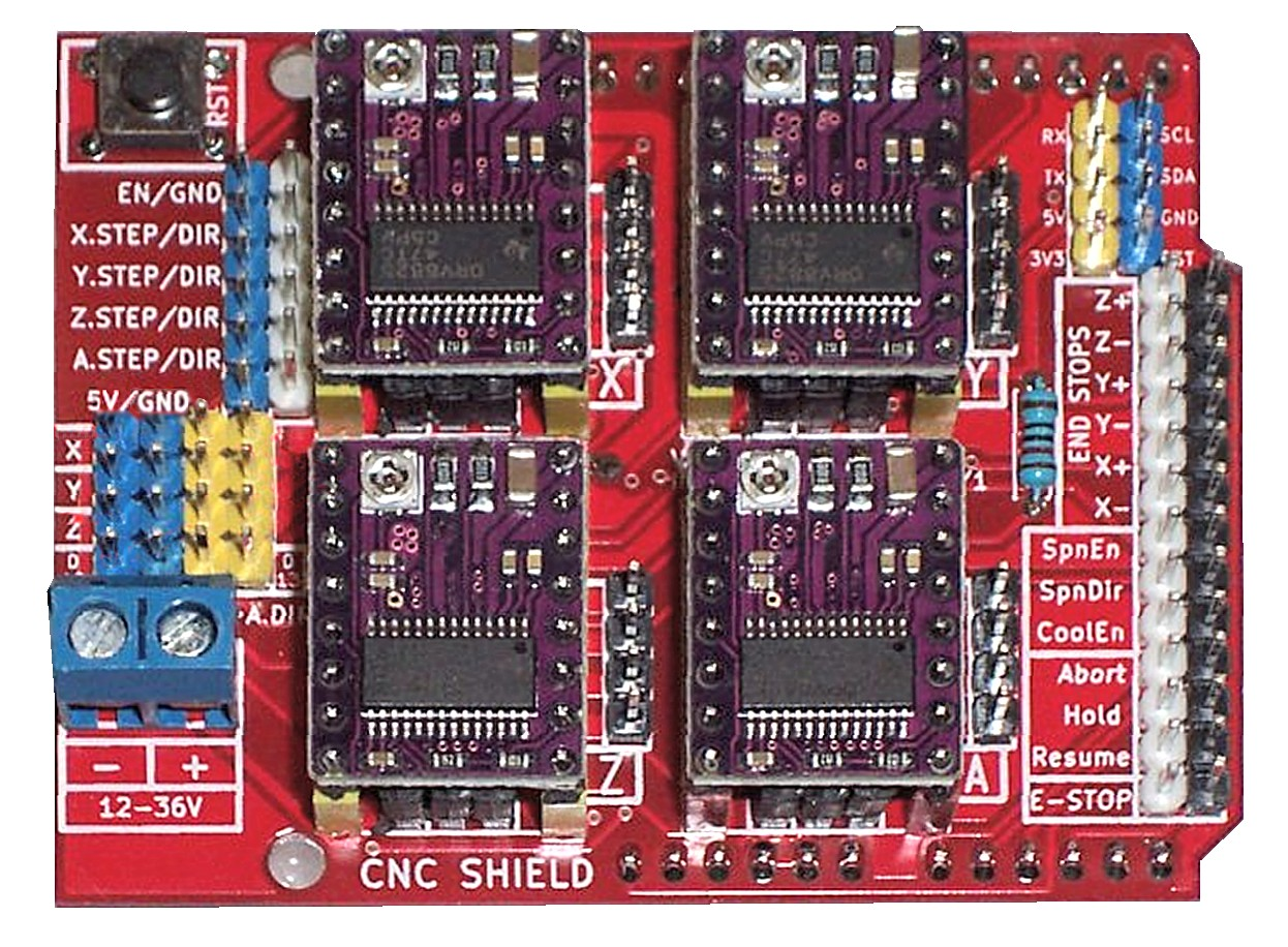 CncShieldV3 с DRV8825