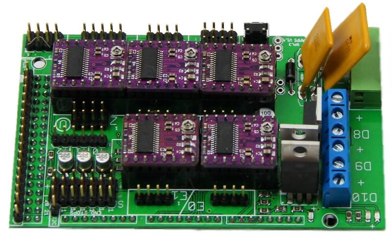 Рампы с DRV8825
