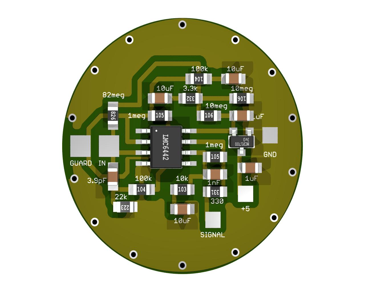 Biometrics Theremino Arduino Ecg Ekg Heart Rate Monitor Circuit Prototype Youtube This