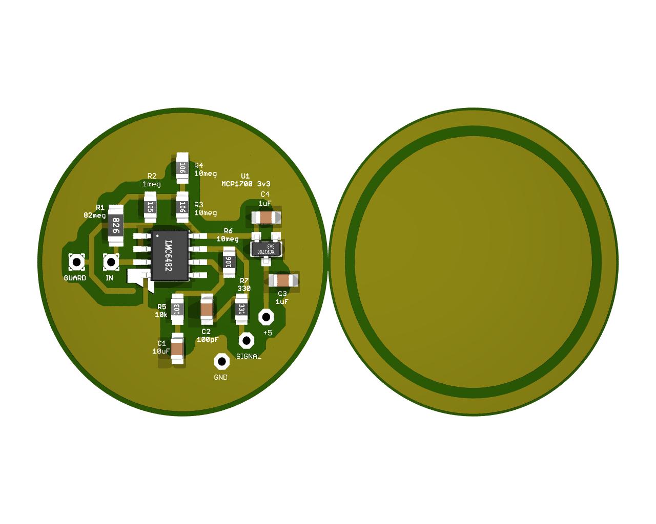 Biometrics Theremino Arduino Ecg Ekg Heart Rate Monitor Circuit Prototype Youtube Or