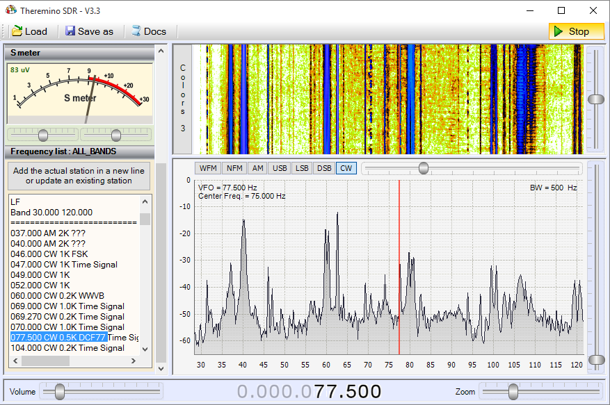Theremino SDR - Band LF1
