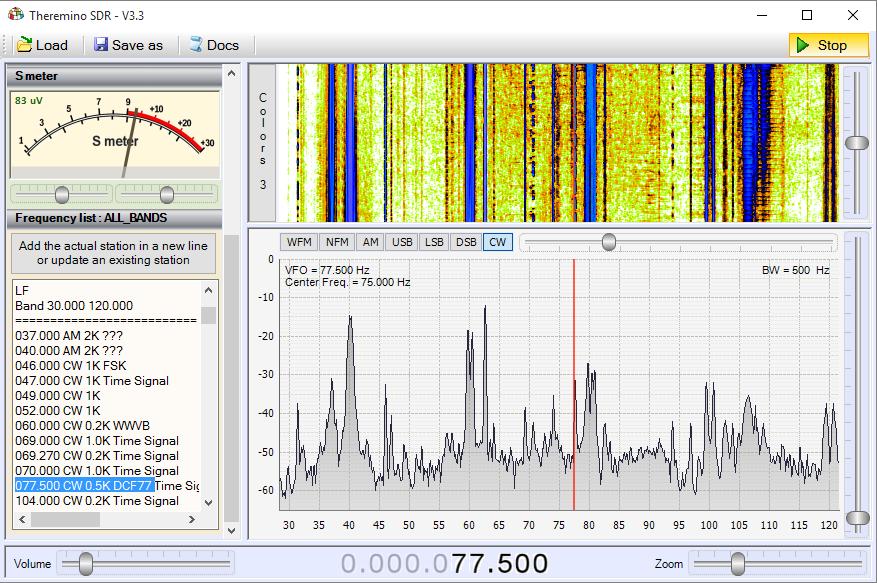 Theremino SDR - Band LF1
