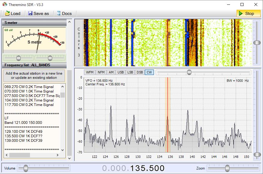 Theremino SDR - Band LF2