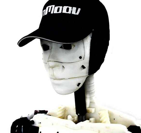InMoov open-Source-Roboter