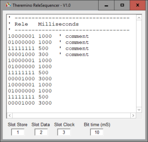 Rele Sequencer