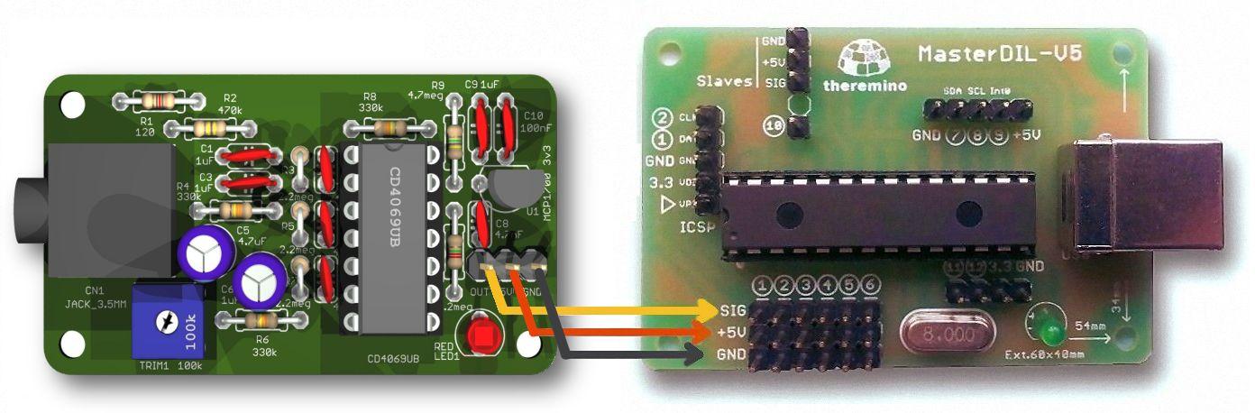 Пульсометра V6 соединения