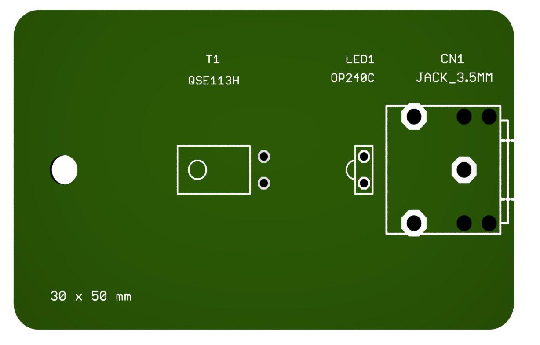 Theremino OCG sensor PCB