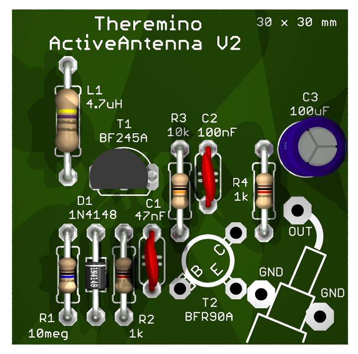 Theremino Active Antenna