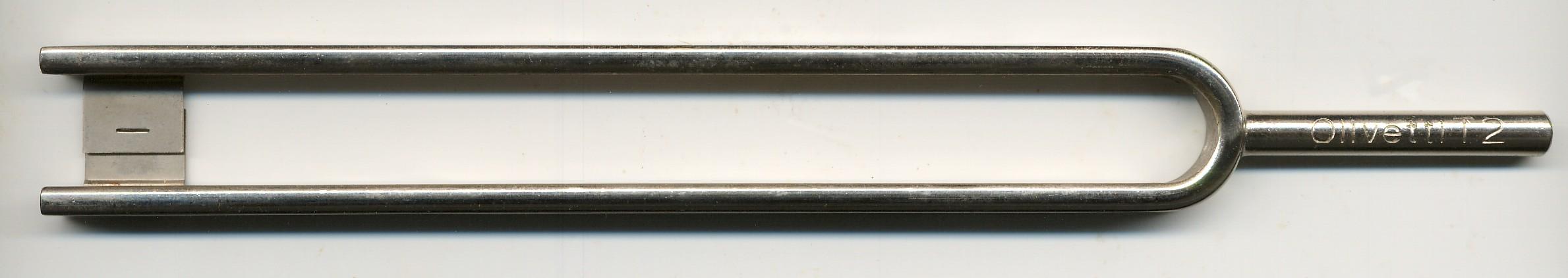 Tuning fork 125 Hz - Olivetti teletype