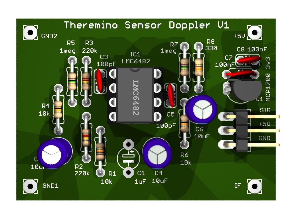 Theremino DopplerSensor