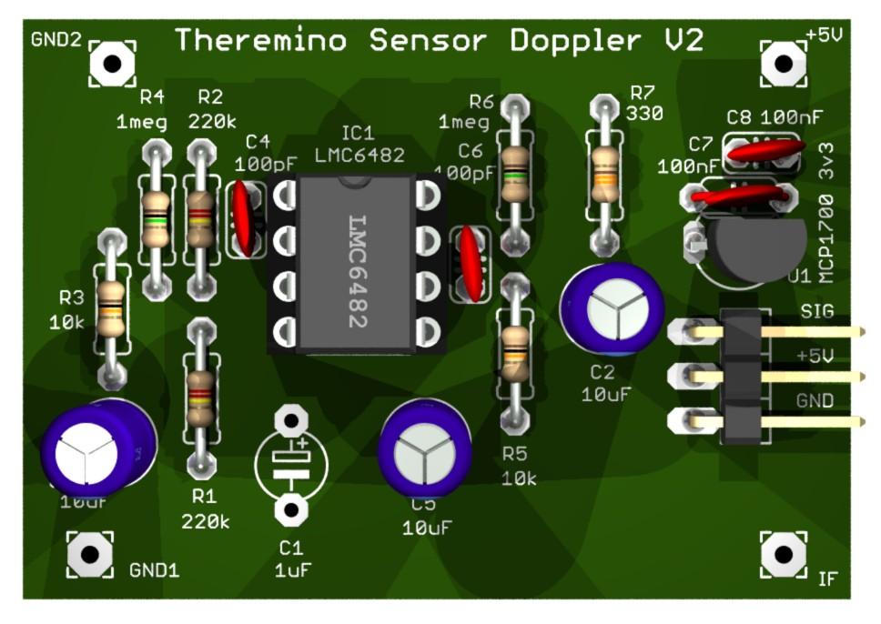 Микроволновый датчик Допплер