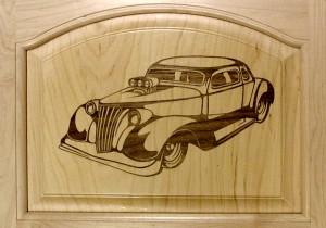 Theremino CNC - Wood Engraving