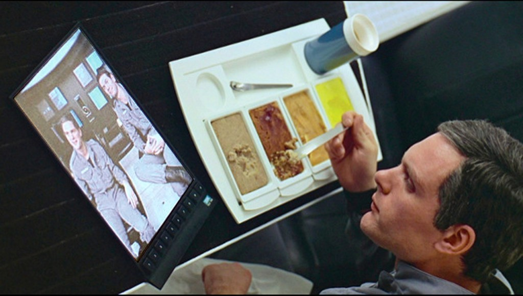 Theremino System - Tablet - Kubrick movie - 1968