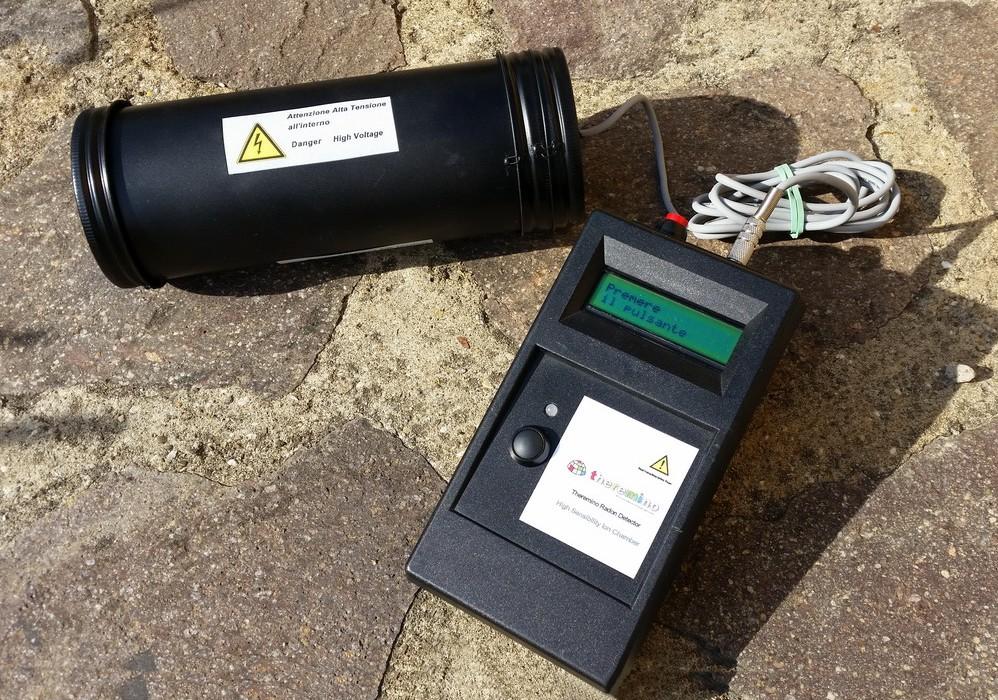 Radon Detector Embedded