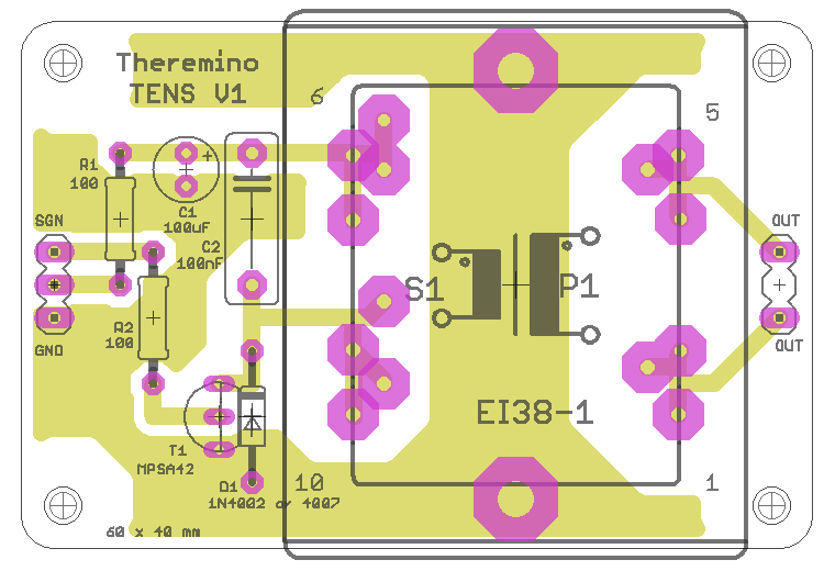 Theremino ten V1 board