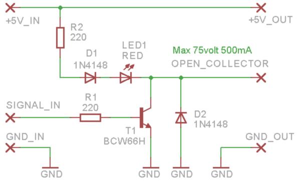 Actuator OpenCollector SCH