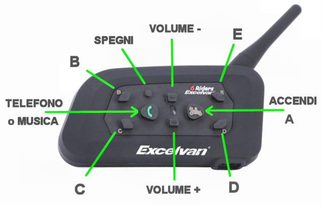 interphone Excelvan