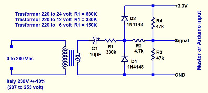 Theremino AC_VoltageMeter