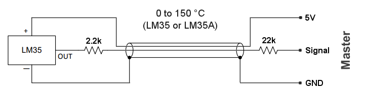 LM35 connections