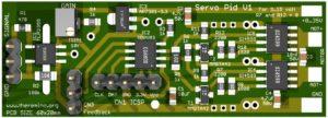 Servo PID V1 Board