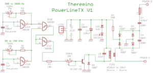 PowerLineTX Schematics