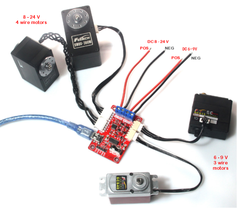 Programming FeeTech motors