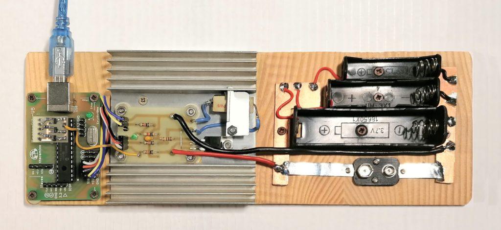 Beispiel für eine Batterieanzeige
