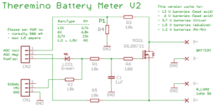 Battery Meter V2 schematics