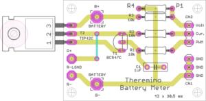 Batteriezählerplatine