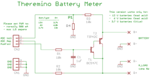 Schaltpläne des Batteriezählers