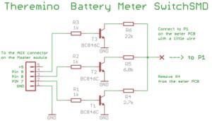 Schaltpläne für Batteriemessgeräte SwitchSMD