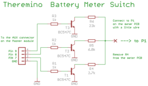 Battery Meter Switch schematics