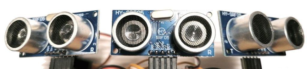Несколько ультразвуковых датчиков
